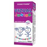 Advanced Kids Sirop Vizual Junior Cosmo Pharm, 125ml