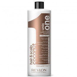 Sampon cu Nuca de Cocos Revlon Professional - Uniq One All In One Conditioning Shampoo 1000 ml