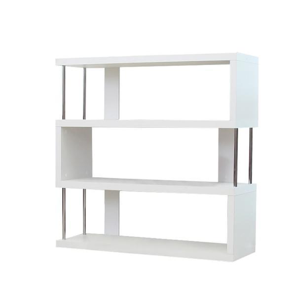 Etajera GL Benito, 110x97x29 cm, alb