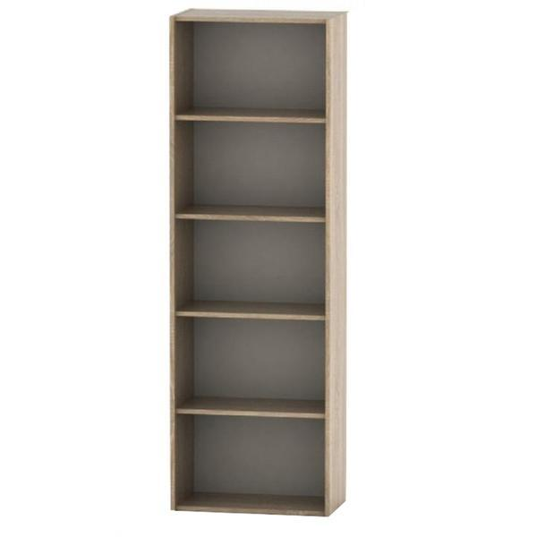 Etajera biblioraft inalt GL TEMPO ASISTENT 001, 175x57x34 cm, stejar sonoma