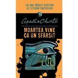 Moartea vine ca un sfarsit - Agatha Christie, editura Litera
