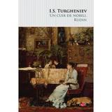 Un cuib de nobili. Rudin - I.S. Turgheniev, editura Litera