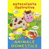Animale domestice. Autocolante ilustrative, editura Biblion