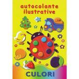 Culori. Autocolante ilustrative, editura Biblion