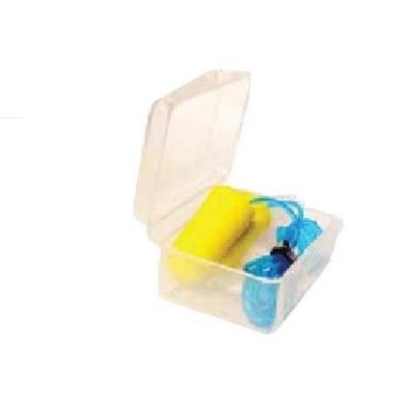 Antifoane PU din Silicon cu Snur FL Medical, 1 pereche, 3 buc + cutie pastrare esteto.ro