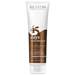 2in1 Sampon si Balsam - Revlon Professional 45 Days Total Color Care Sensual Brunettes 275 ml