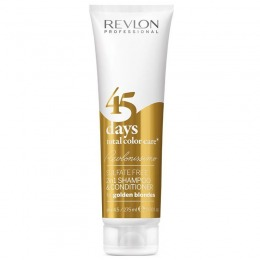2in1 Sampon si Balsam - Revlon Professional 45 Days Total Color Care Golden Blondes 275 ml