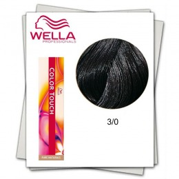 Vopsea fara Amoniac - Wella Professionals Color Touch nuanta 3/0 castaniu inchis