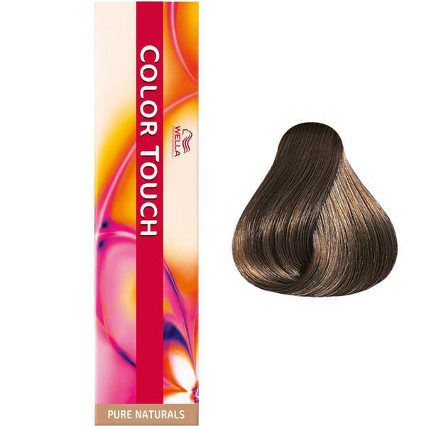 Vopsea Demi-permanenta – Wella Professionals Color Touch nuanta 6/0 blond inchis