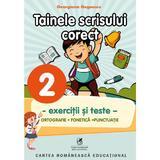 Tainele scrisului corect - Clasa 2 - Exercitii si teste - Georgiana Gogoescu, editura Cartea Romaneasca