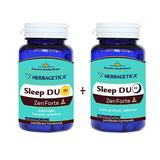 Sleep Duo Am/PM Zen Forte Herbagetica, 30+30 capsule