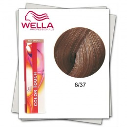Vopsea fara Amoniac - Wella Professionals Color Touch nuanta 6/37