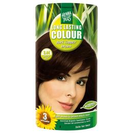 Vopsea par, Long Lasting Colour, 3.44 Dark Cooper Brown, Hennaplus de la esteto.ro