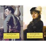 Fratii Karamazov vol.1+2 - Dostoievski, editura Corint