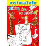 Cartea mea de colorat. Animalele, editura Teopiticot