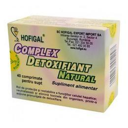 hofigal természetes méregtelenítő komplex 40 tabletta