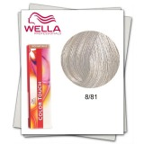 Vopsea fara Amoniac - Wella Professionals Color Touch nuanta 8/81 blond deschis albastrui cenusiu