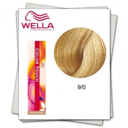 Vopsea fara Amoniac - Wella Professionals Color Touch nuanta 9/0 blond luminos