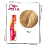 Vopsea fara Amoniac - Wella Professionals Color Touch nuanta 9/01 blond luminos natural cenusiu