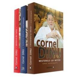 Pachet Cornel Dinu. 3 carti, editura Minerva
