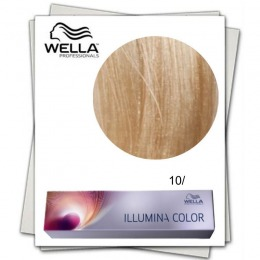 Vopsea Permanenta - Wella Professionals Illumina Color Nuanta 10/ blond luminos deschis violet perlat