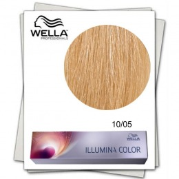 Vopsea Permanenta - Wella Professionals Illumina Color Nuanta 10/05 blond luminos deschis natural mahon
