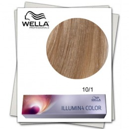 Vopsea Permanenta - Wella Professionals Illumina Color Nuanta 10/1 blond luminos deschis cenusiu