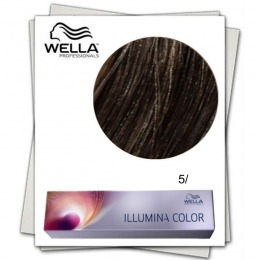 Vopsea Permanenta - Wella Professionals Illumina Color Nuanta 5/ castaniu deschis