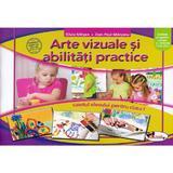 Arte vizuale si abilitati practice - Clasa 1 - Caiet - Silvia Mirsan, Dan-Paul Marsanu, editura Aramis