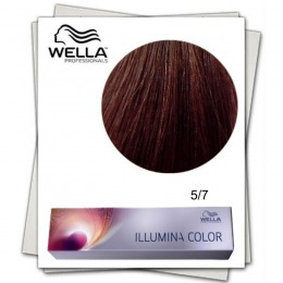 Vopsea Permanenta - Wella Professionals Illumina Color Nuanta 5/7 castaniu deschis maro
