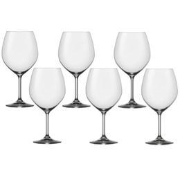 Pahar Bohemia Cristal Harmony Raki pentru vin burgundy set 6 buc 710ml