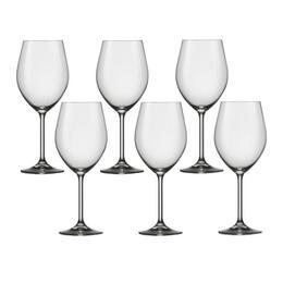 Pahar Bohemia Cristal Harmony Raki pentru vin bordeaux set 6 buc 620ml