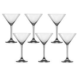 Pahar Bohemia Cristal Flamenco Raki martini set 6 buc 270ml
