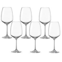 Pahar pentru vin BOHEMIA CRISTAL GISELLE Raki set 6 buc 340ml