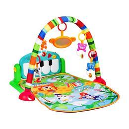 Jucarie interactiva MalPlay Saltea bebelusi cu pian,arcada si jucarii detasabile