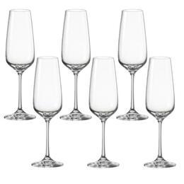 Pahar Bohemia Cristal Giselle Raki pentru vin set 6 buc 190ml