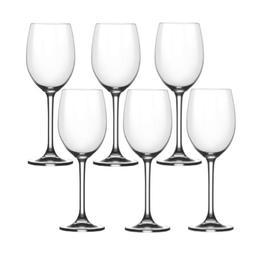 Pahar vin alb Bohemia Cristal Flamenco Raki set 6 buc 305ml