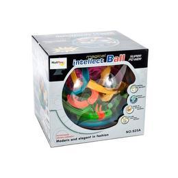 Jucarie interactiva MalPlay Sfera labirint 3D cu minge metalica