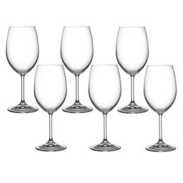 Pahar Bohemia Cristal Raki pentru vin set 6 buc 250ml