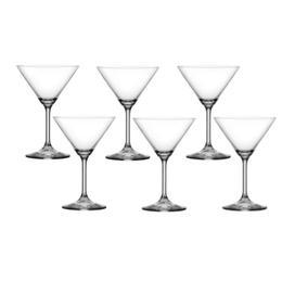 Pahar Bohemia Cristal Raki pentru martini set 6 buc 210ml