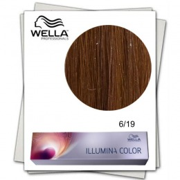 Vopsea Permanenta - Wella Professionals Illumina Color Nuanta 6/19 blond inchis cenusiu perlat