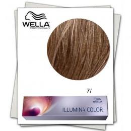 Vopsea Permanenta - Wella Professionals Illumina Color Nuanta 7/ blond mediu