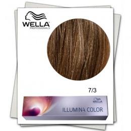 Vopsea Permanenta - Wella Professionals Illumina Color Nuanta 7/3 blond mediu auriu