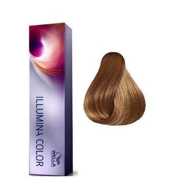 Vopsea Permanenta - Wella Professionals Illumina Color Nuanta 7/35 blond mediu auriu mahon esteto.ro