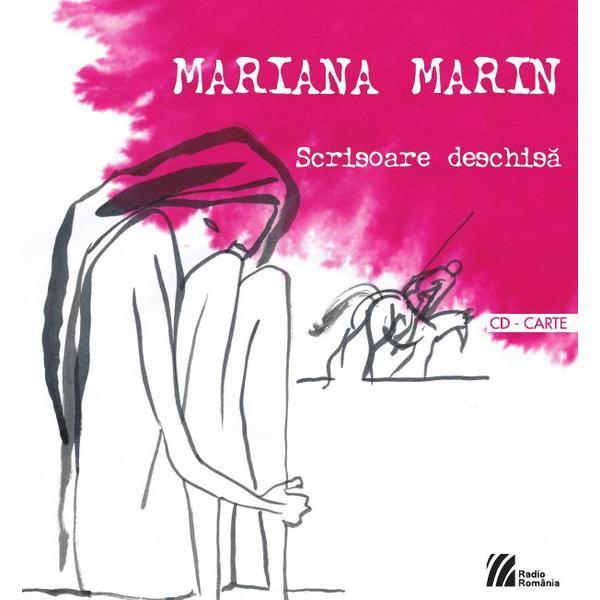 Scrisoare Deschisa + Cd - Mariana Marin, editura Casa Radio
