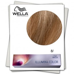 Vopsea Permanenta - Wella Professionals Illumina Color Nuanta 8/ blond deschis