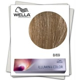 Vopsea Permanenta - Wella Professionals Illumina Color Nuanta 8/69 blond deschis violet perlat
