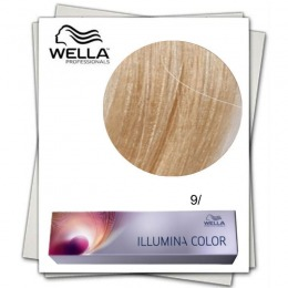 Vopsea Permanenta - Wella Professionals Illumina Color Nuanta 9/ blond luminos