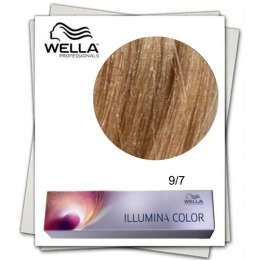 Vopsea Permanenta - Wella Professionals Illumina Color Nuanta 9/7 blond luminos maro