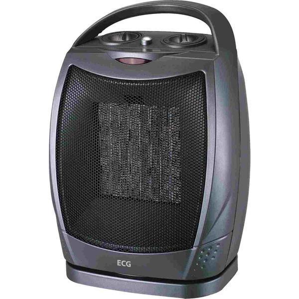 Aeroterma electrica ECG KT 10, 1500 W, 2 trepte de incalzire + aer rece, oscilatie 90 de grade